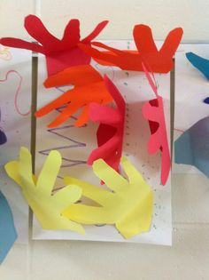 The Artsy Fartsy Art Room: Hands and More Hands!