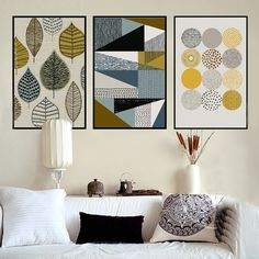 Cheap oil picture, Buy Quality picture for living room directly from China poster print Suppliers: Abstract Geometric Canvas Paintings Nordic Scandinavian Posters Prints Wall Art Oil Pictures for Living Room Home Decor Unframed