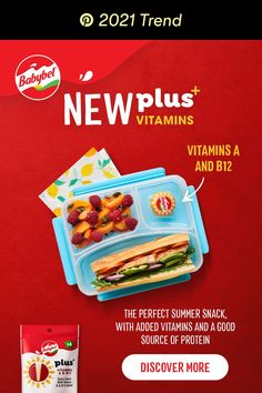 Get more from your snack with Babybel plus+. It's got the same great taste as Mini Babybel cheese, and is a good source of protein and calcium. It's delicious, it's creamy, it's your new go-to summer snack. Tap the Pin, and discover more. Summer Snacks, Easy Snacks, Babybel Cheese, Blue Morning Glory, Self Care Bullet Journal, Quick Makeup, Christmas Wood Crafts, Types Of Cheese, Good Sources Of Protein