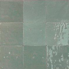 10x10 Zellige grigio medio