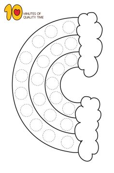 25 Dot Activity Printables [avia_codeblock_placeholder 25 Do a Dot Activity Sheets File format - PDF Size - ava Preschool Crafts, Toddler Activities, Preschool Activities, Easy Art For Kids, St Patricks Day Crafts For Kids, Do A Dot, Activity Sheets, Toddler Crafts, Spring Crafts