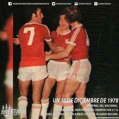 #IndependienteHistorico Semifinal del Nacional. En Avellaneda, #Independiente derrota por 2-1 a #TalleresDeCórdoba