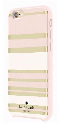 Kate Spade New York Hybrid Hardshell Case Capri Stripe For IPhone 6 Plus 6s