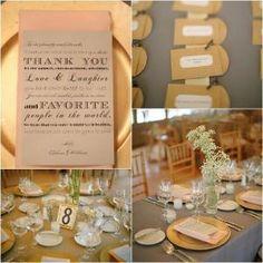 Elegant Country Wedding Reception by winnie
