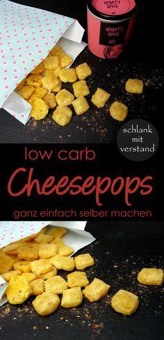 low carb Cheesepops selber machen