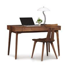 Warwick Natural Walnut Desk | dotandbo.com