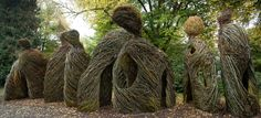 "Woven Whimsy: Stickworks by Patrick Dougherty, on view at:Atlanta Botanical Garden, Gainesville, beginning April 9, 2016.       Featured Image: ""Pomp and Circumstance"" at Oregon State University by Frank Miller"