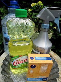 Time to bring in the houseplants! Protect them from bugs for pennies! Make your own dormant oil spray!  http://ourfairfieldhomeandgarden.com/diy-tucking-the-garden-in-for-the-winter-at-our-fairfield-home-garden/