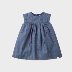 Paul Smith Baby Girls' Indigo Ladybird Motif 'Natalia' Dress
