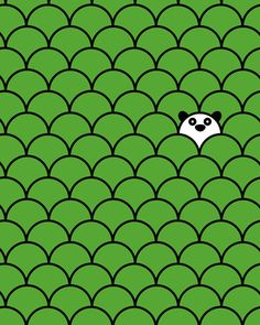 Love this print called The Last Panda by John Tibbott via Design Milk. Can be found on his Society 6 shop: http://society6.com/product/The-Last-Panda_Print?tag=design-milk=designmilk, Very Cute!!