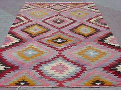 "Anatolia Turkish Classic Antalya Kilim 72"" x 103 5"" Area Rug Carpet | eBay"