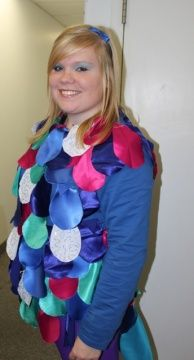 1000 images about under the sea costume ideas on for Rainbow fish costume