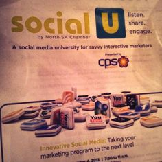 Did you miss out on Social U? Check out this recap on this social media university for marketers. Marketing Program, News Sites, Mobile App, University, Social Media, Check, Mobile Applications, Social Networks, Community College