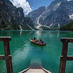 Lago di Braies, Italy Photo by @elcampa1969