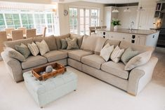 Project: Stratford Upon Avon Kitchen/Diner/Lounge Parenting Open Plan Kitchen Diner, Open Plan Kitchen Living Room, Home Living Room, Living Room Designs, Living Room Decor, Shabby Chic Bedrooms, Shabby Chic Furniture, Bedroom Furniture, Avon