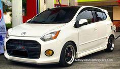 Click to visit http://www.malaysiamodifiedcars.com/modified-perodua-axia-daihatsu-ayla-toyota-agya-wigo/ Modified Perodua AXIA #axia #peroduaaxia