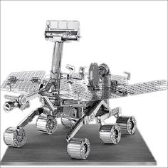 Metal Earth 3D Laser Cut Model Mars Rover Space Craft