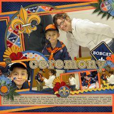 Bobcat Ceremony - Scrapbook.com