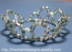 Mini tiara tutorial. Cute for a little girl for dress up time!