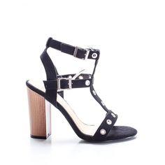 calitate bună magazin oficial reducere mare Sandale cu toc gros dama