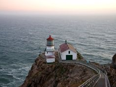 Shoreline Highway, Marin County, California - part of Highway 1 - actually we want to travel ALL of Highway 1