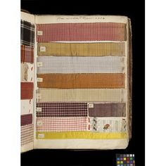 Swatch book   V&A Search the Collections 1763 Lyon France