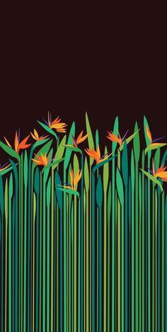 Ideas For Flowers Background Illustration Drawings Art And Illustration, Flower Illustration Pattern, Flowers Background, Background Patterns, Art Watercolor, Pattern Wallpaper, Bird Wallpaper, Wallpaper Ideas, Flower Art