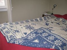 Winter Wonderland Afghan by McCall Pattern Company