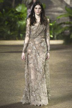 Elie Saab   Spring/Summer 2016 Couture Collection via Designer Elie Saab   Modeled by ?   Paris; January 27, 2016