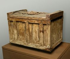 Box Coffin and Rope from the Old Kingdom,Dynasty 3–4 c.a. 2649–2465 B.C.