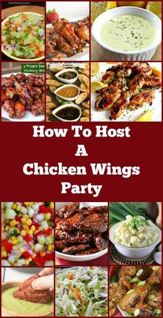 How To Host A Chicken Wings Party