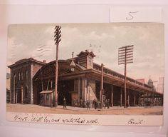 Vintage railroad postcard Lancaster by NeatstuffAntiques on Etsy, $20.00