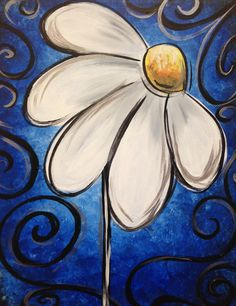 I am going to paint Darling Daisy  at Pinot's Palette - Brandon to discover my inner artist!