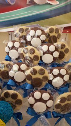 41 Puppy Birthday Cakes, Puppy Birthday Parties, Puppy Party, Dog Birthday, Paw Patrol Party, Paw Patrol Birthday, Birthday Decorations, Party Themes, Lion Cupcakes