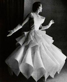 Lanvin 1950 evening how - vintage dress perfection!