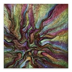 Victoria Stothard - Dragon Wing I, Acrylic on Canvas