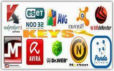 Serial Keys for ESET NOD32, Kaspersky, Avast, Avira Antiviruses - Moviescracky