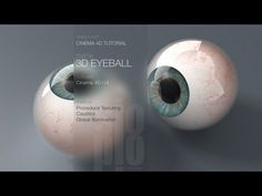 http://witzeducation.com/technology/?s=cinema+4d Cinema 4D Tutorial -- Model and Texture a 3D Eyeball