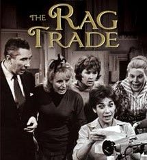 'The Rag Trade' ran from 1961-1973 on BBC, and 1977-1978 on LWT