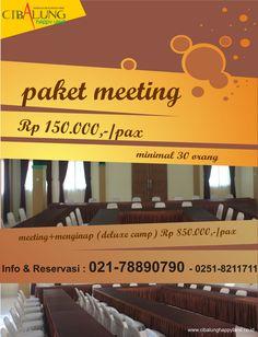 meeting murah meriah