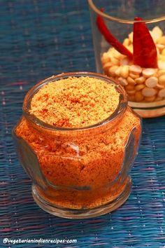 Vegetarian Indian Recipes: Peanut chutney powder recipe / Shenga chutney pudi...
