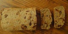 healthy breakfast date oat bread