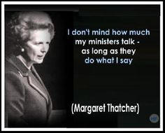 """They didn't call her the Iron Lady for nothing. Not holding her up as a feminist, but as a woman imbued with power who ran over her male counterparts who wanted to control a """"little old lady,"""" which makes her notable. Margaret Thatcher Quotes, E Greetings, The Iron Lady, What Is A Feminist, Wit And Wisdom, Word Pictures, Celebration Quotes, Parenting Humor, Call Her"""