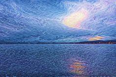 Sonne hinter den Wolken (b) Waves, Outdoor, Clouds, Sun, Outdoors, Outdoor Living, Garden, Wave, Beach Waves