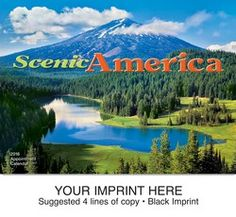 Fina Promos - Promotional Products, Marketing Services, Website Design - Scenic America (R) appointment calendar - 800 Scenic America