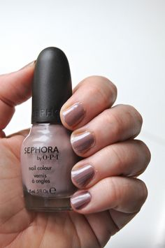 Sephora by OPI Make the First Mauve. (via @Maryse Gravelle-Nugent R)