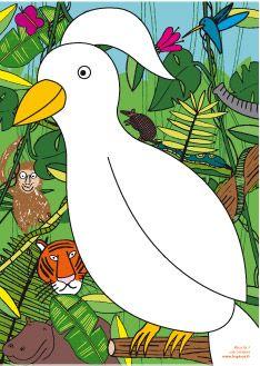 El pájaro de plumas: Las planchas soplo ideales para trabajar mediante el juego. Descargables Gratis en http://bloghoptoys.es/las-planchas-soplo/