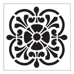 FolkArt Tile Small Painting Stencils-30606 at The Home Depot  $3.14 each