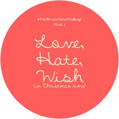 Caffélatteforbreakfast! | IT beauty, fashion, health blog: The Christmas Advent Challenge TAG: Week 2, Love, ...