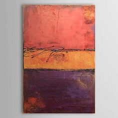 Hand Painted Oil Painting Abstract 1304-AB0460 - WallArtBox